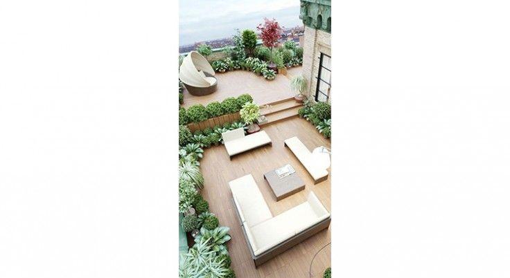 Les 15 plus beaux toits terrasses repérés sur Pinterest !