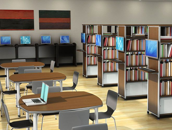 Great Classroom Furniture   School Furniture   Information Commons    Collaborative Learning   Paragon Furniture