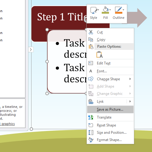 How To Copy Powerpoint Slides Into Word In Three Different Ways Powerpoint Slide Powerpoint Shape Change