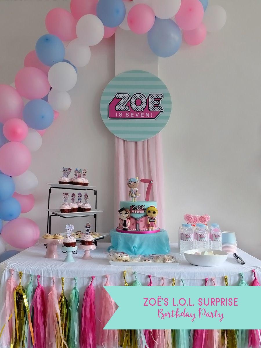 Zoë's L.O.L. Surprise Birthday Party Birthday parties