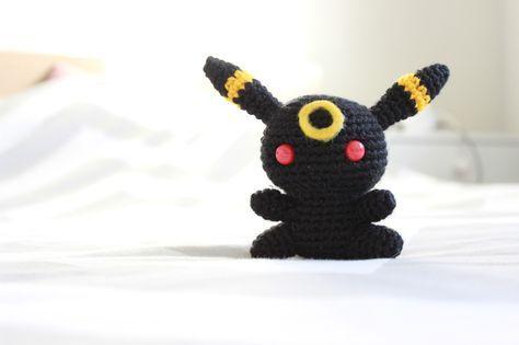 Umbreon - Pokemon Character - Free Amigurumi Pattern here: http ...