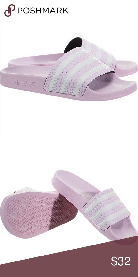 fdab2ab3f52b Adidas Adilette BNWT. 10 10 condition. Very cute girl Adidas Slides. adidas Shoes  Sandals   Flip Flops