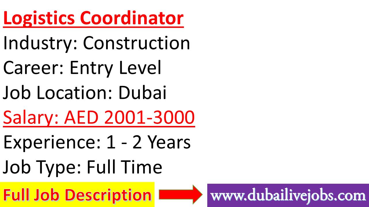 Https Dubailivejobs Com Entry Level Jobs Job Dubai