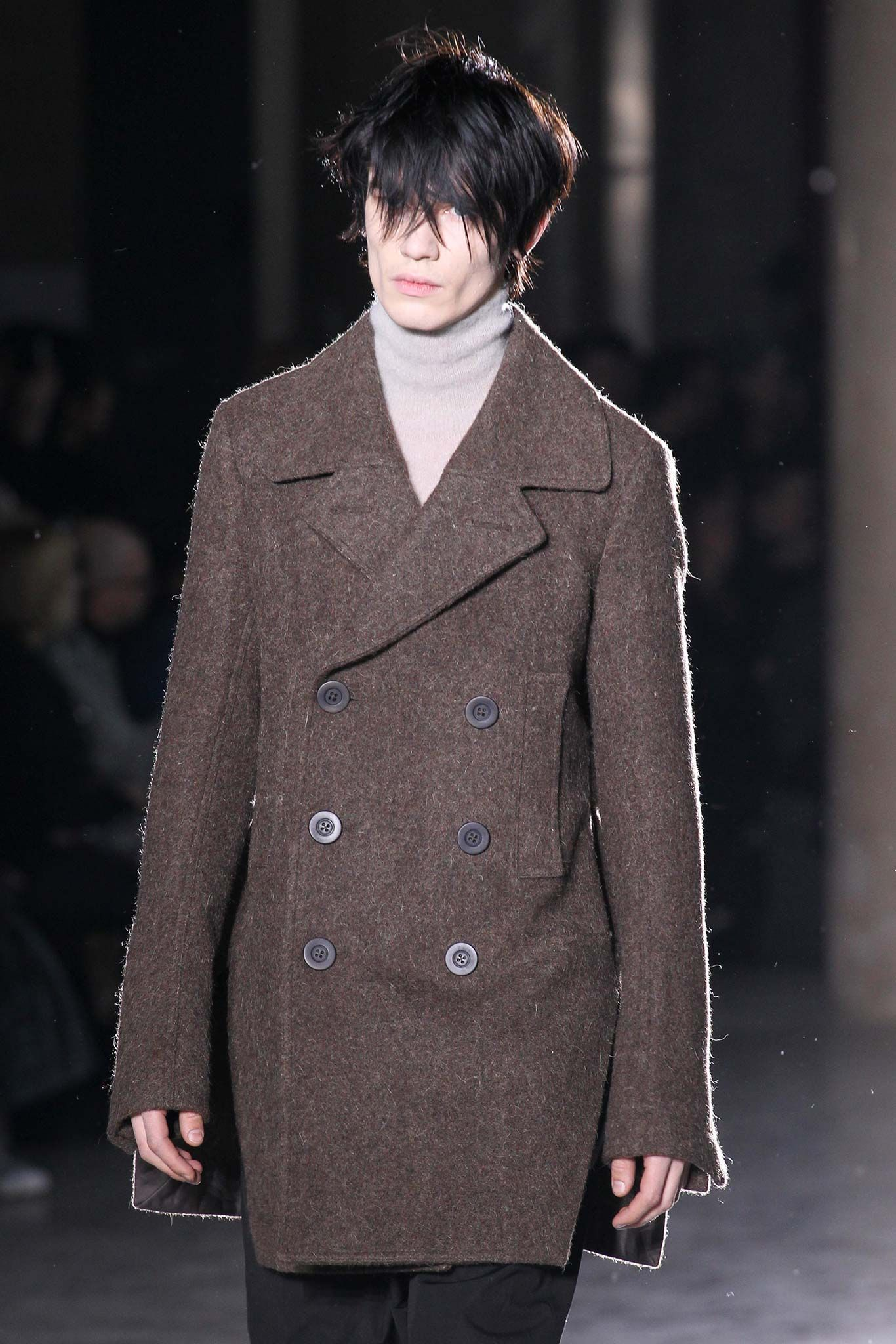 Rick owens fall menswear look of his style