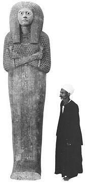 Stripped coffin of Queen Meritamun