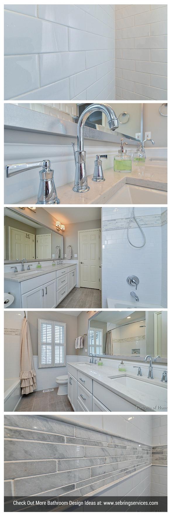 Bathroom Remodeling Tile Cabinet Granite Quartz Ideas Naperville Sebring  Services ...