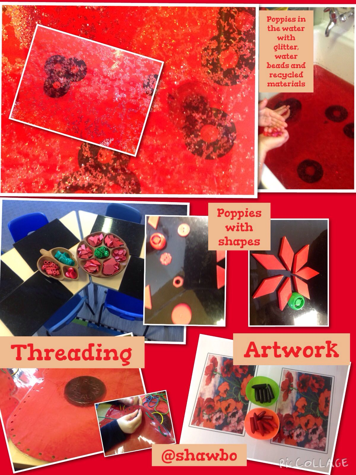 Poppy provision and inspiration