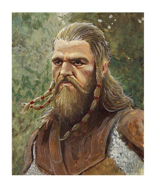 home | Illustrations viking chief