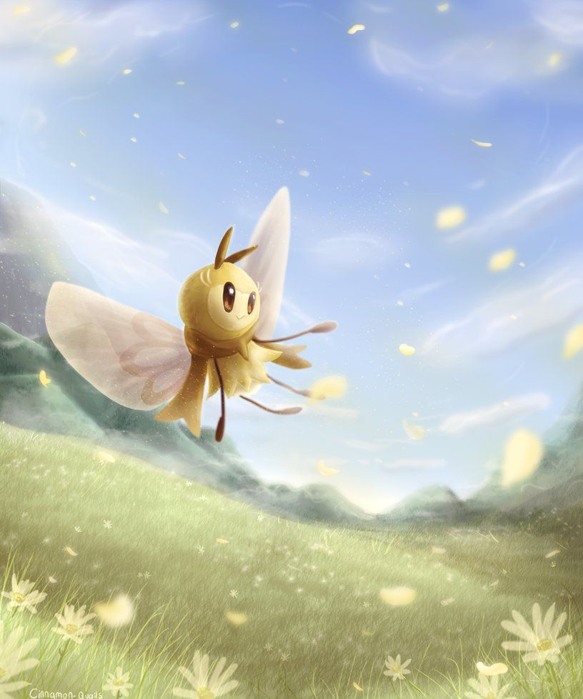 Ribombee By Cinnamon Quails On Deviantart Pokemon Fan Art Wild Pokemon Awesome Anime