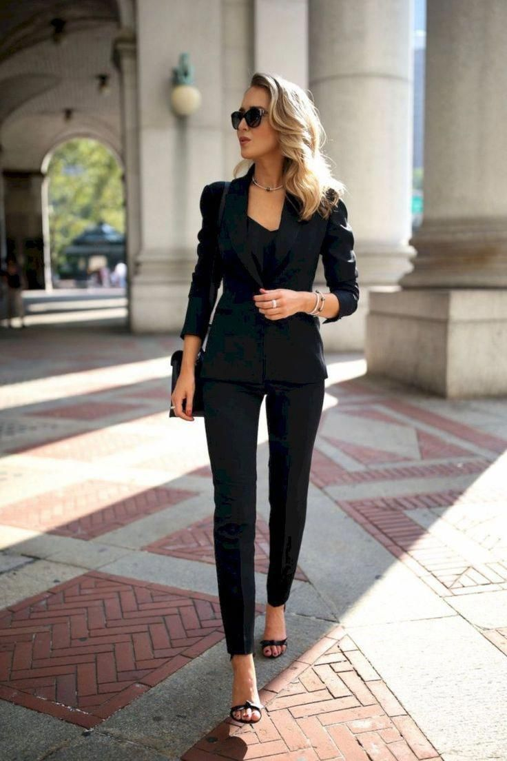 42 Beautiful Work Outfit Ideas for Career Women #love #instagood #photooftheday #fashion #beautiful...