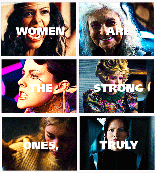 Woman Is That Meant To Insult Me Click Through For Gifs Hunger Games Hunger Games Trilogy Insulting