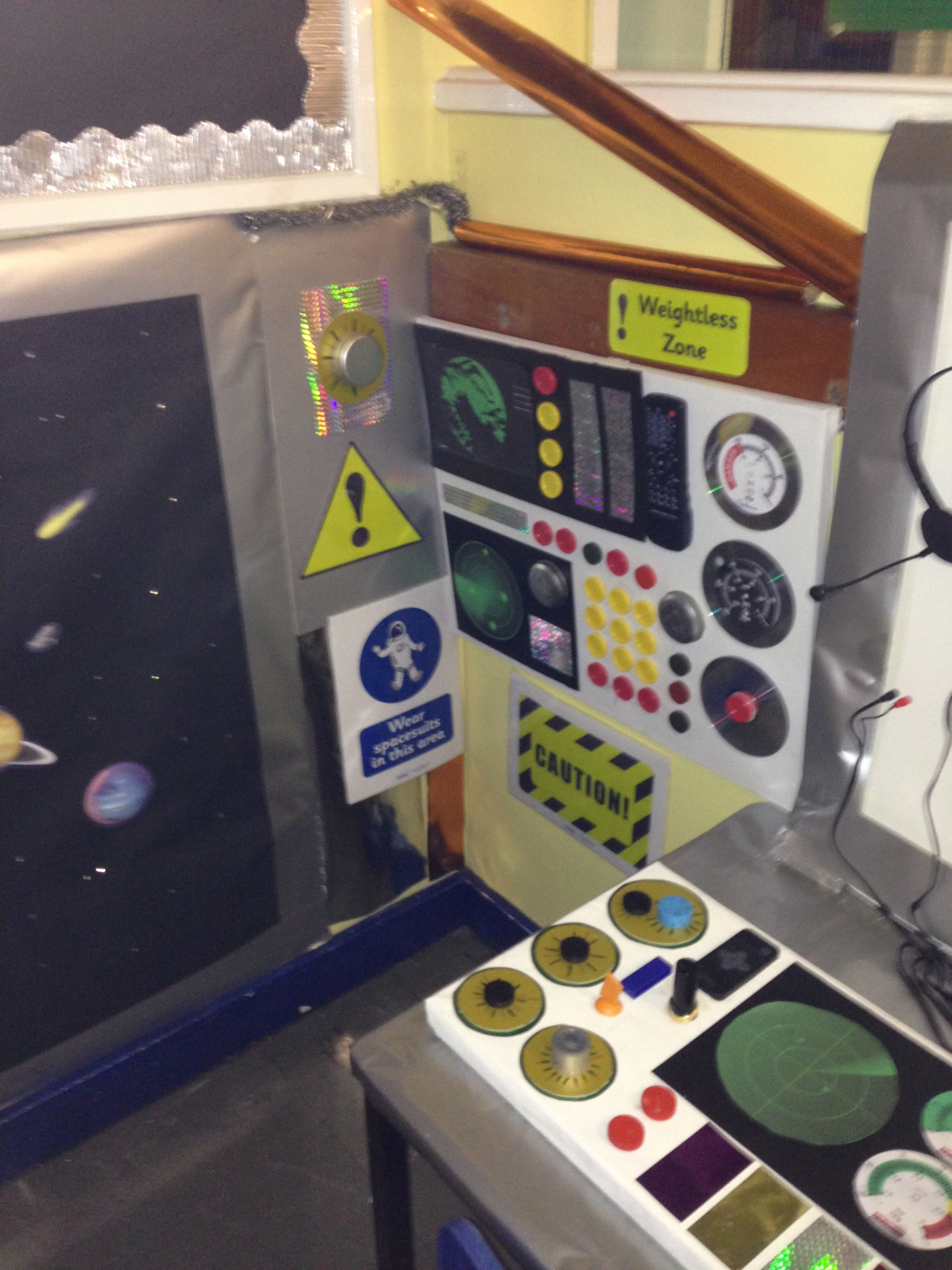 nasa mission control dramatic play ideas - photo #45
