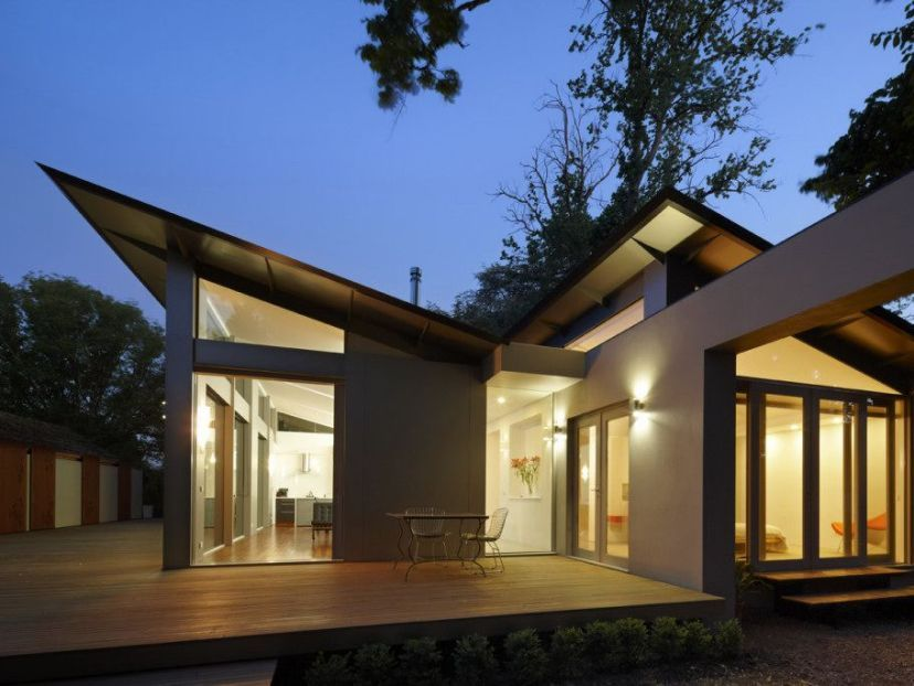 wonderful one storey home layout idea - Modern Home Layout
