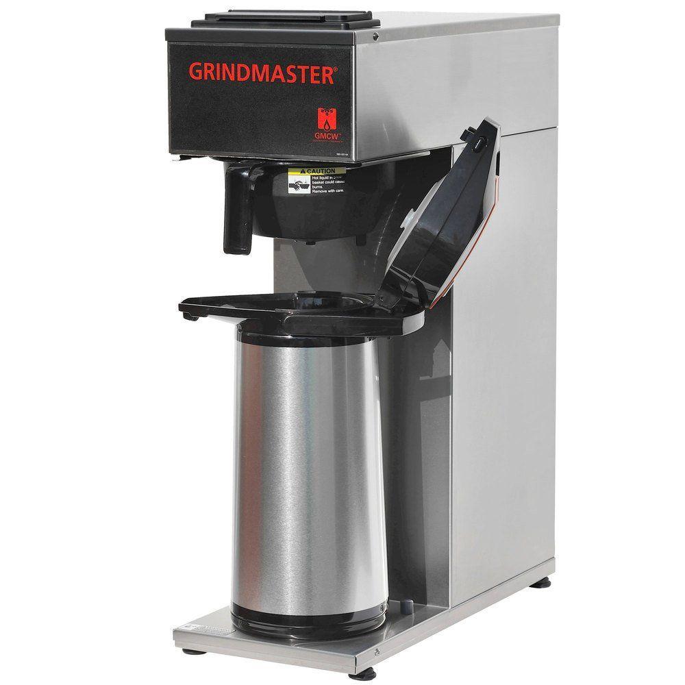 Grindmaster cposapp portable airpot pourover coffee brewer