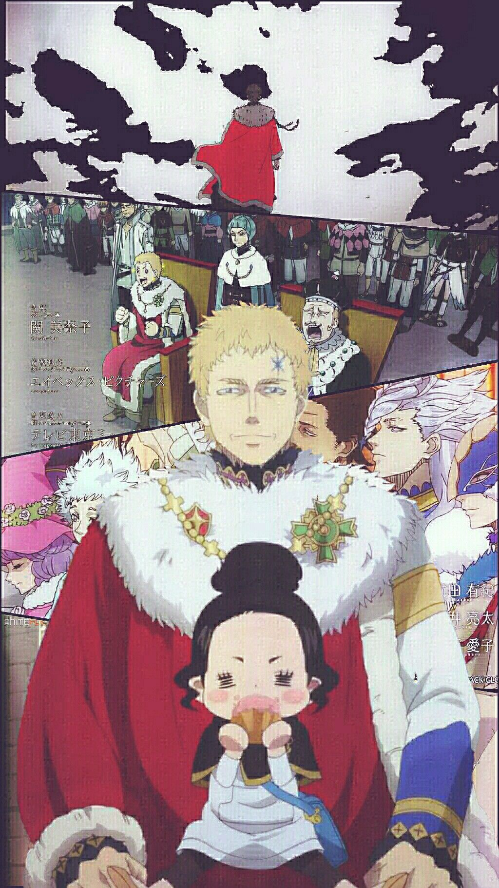 Black Clover Rey Mago Julius Novachrono Y Charmy Fondo De Pantalla Black Clover Anime Black Clover Manga Anime Spoiler there is still a possibility that julius nova chrono. pinterest