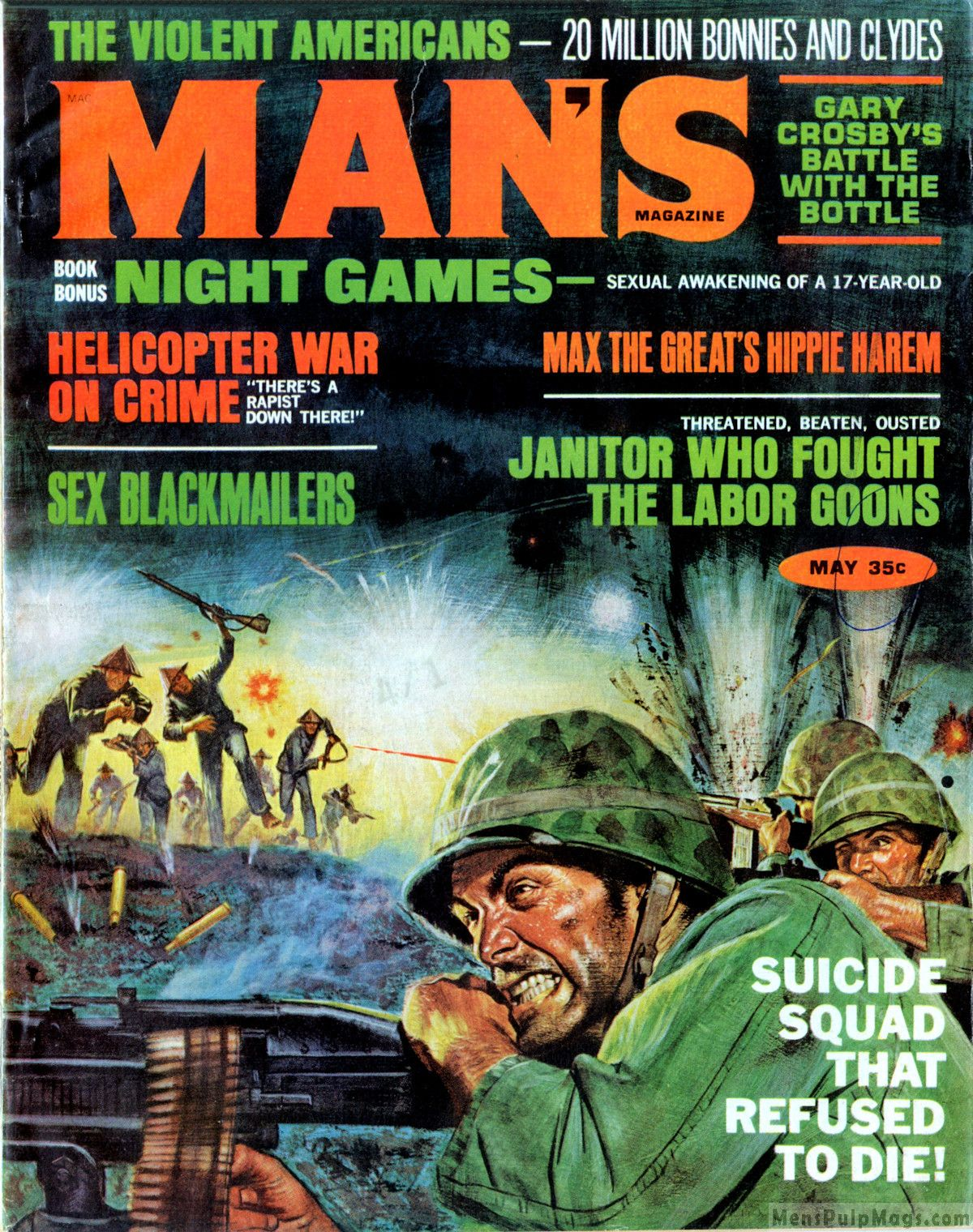 Before there was the comic book and movie Suicide Squad, there was the  men's pulp