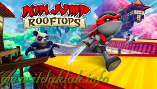 Ninjump Rooftops Android Game V1 0 0 Apk Itdaklak Info With Images English Games For Kids Paper Games For Kids Icebreaker Games For Kids