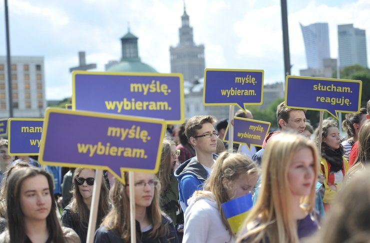 Parada Schumanna 2014, Warszawa