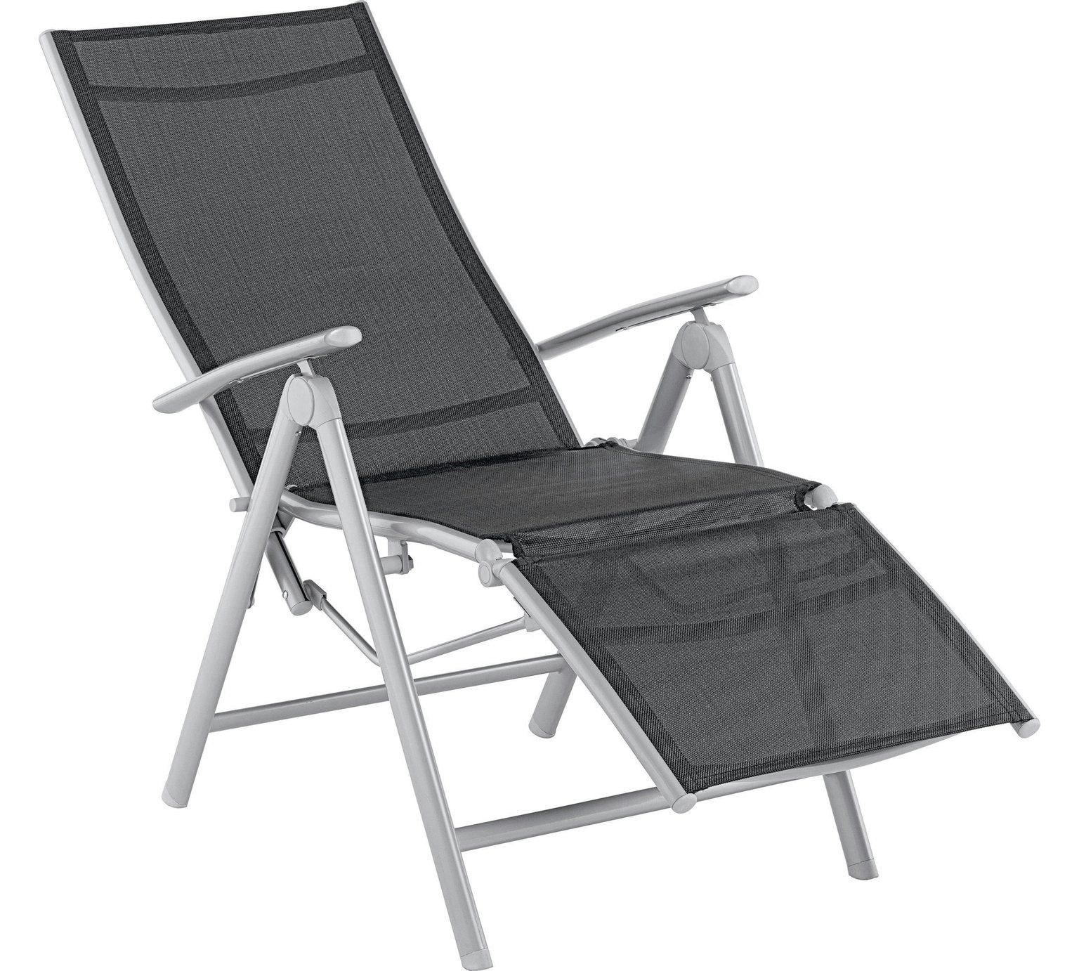 Buy Argos Home Malibu Metal Recliner Chair Black