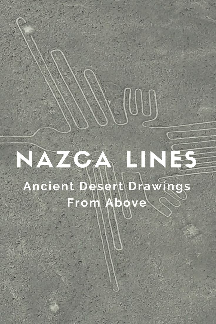 See the famous Nazca Lines from above, ancient desert drawings in Peru. Nazca lines art from an ancient culture. Not to be missed in Peru is a nazca lines peru tour. See the monkey, the eagle, the snake and the astronaut! Almost as good as Machu Picchu and 2x as old atleast ☆☆ Travel Guide / Bucket List Ideas Before I Die By #Inspiredbymaps ☆☆