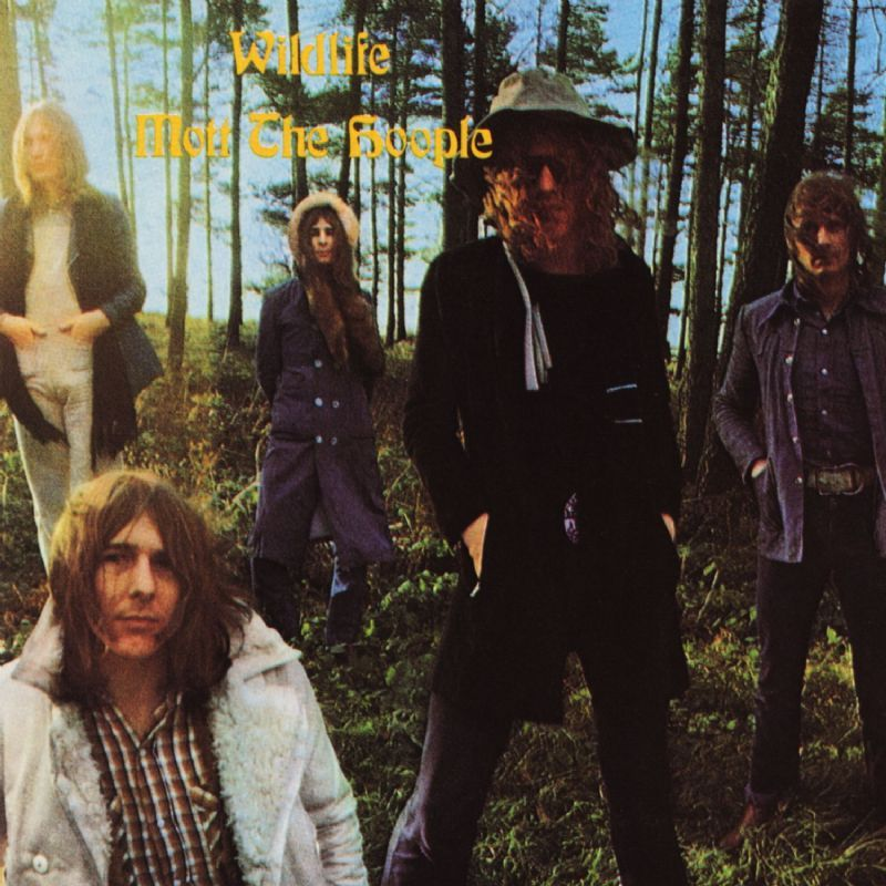 Mott The Hoople Wildlife 1971 I Guess The Front Cover Of This One Says All There Is To Say About This Album It Mott The Hoople Hoople Rock Album Covers