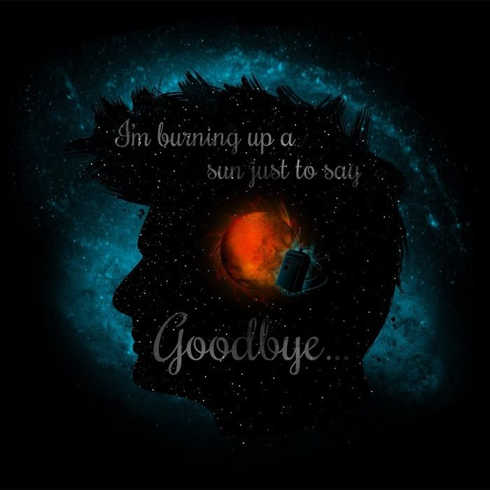 Goodbye - Text Version T-Shirt - The Shirt List