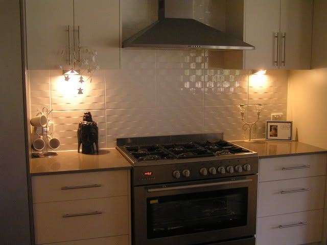 Kitchen Tiles And Splashbacks i really like these large tiles as a splash back, for a modern