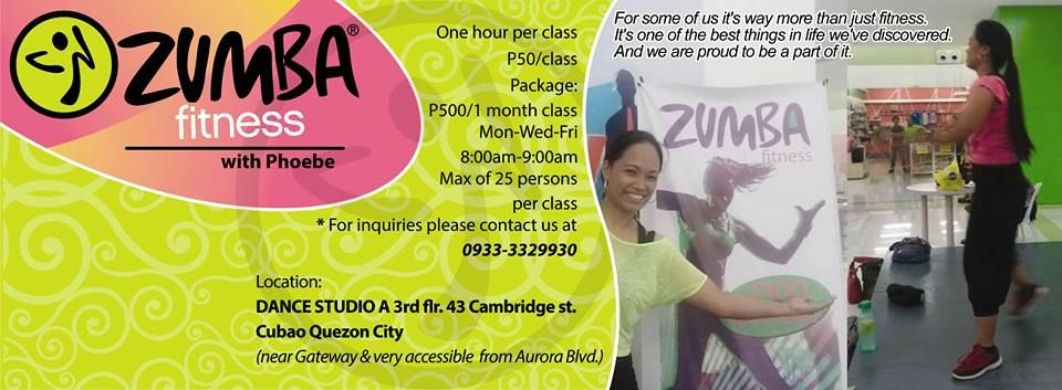 You are invited zumba class studio a dance center 3rd flr 43 43 cambridge st cubao quezon city near stella maris college monday wednesday friday 800 900am p100class rsvp all who plan to attend must stopboris Image collections