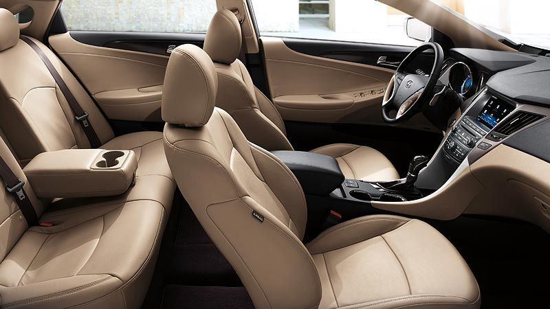 2014 Sonata Limited With Camel Leather