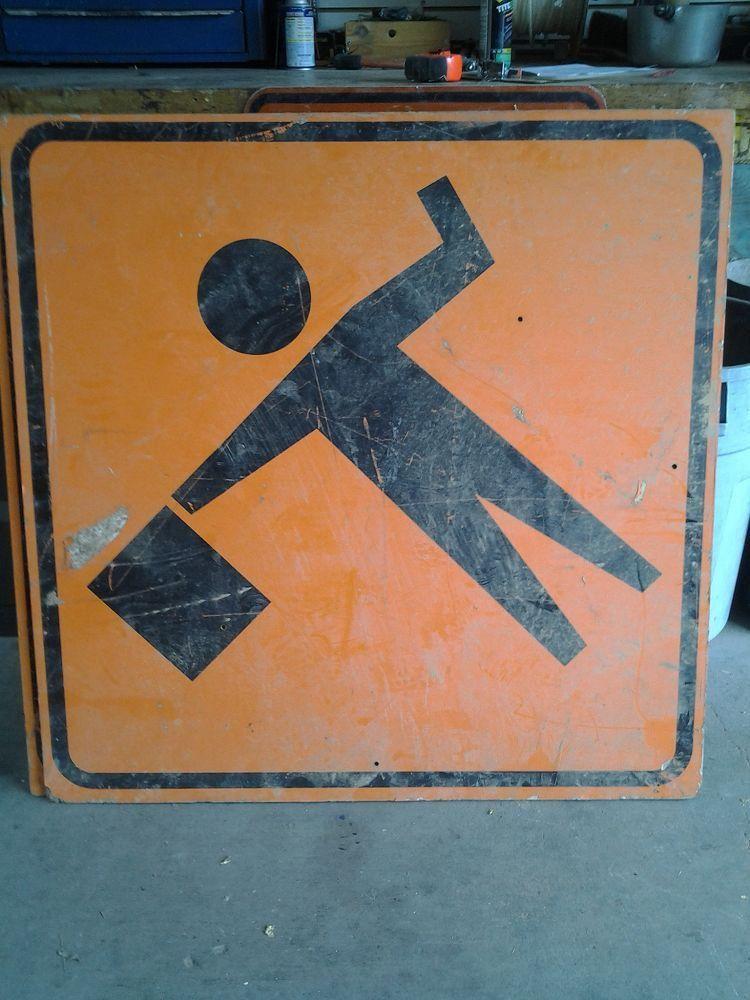 Sign, Flagger Ahead