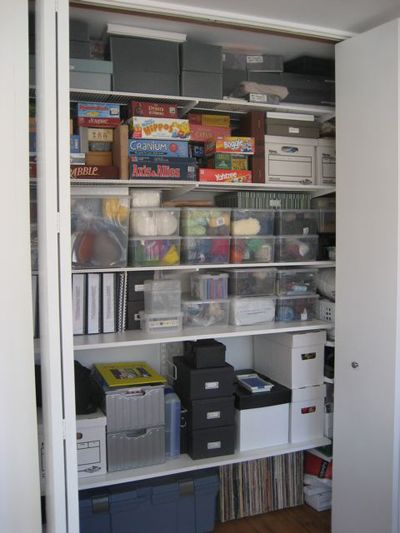 Getting the most out of your storage closets | Closet ...