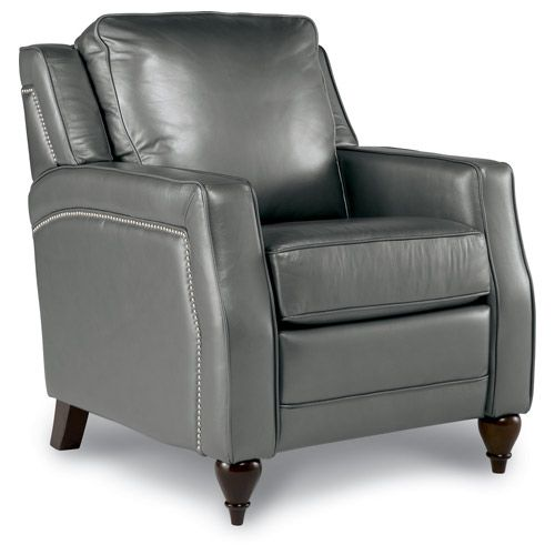 Leather nailhead recliner / Dane @ La-Z-Boy  sc 1 st  Pinterest : white leather lazy boy recliner - islam-shia.org
