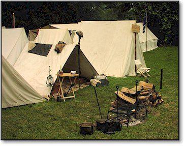 Civil War Reenactment C& & Civil War Reenactment Camp | Civil War Reenacting | Pinterest ...
