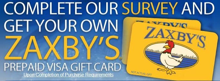 Get your own zaxbys card now visa gift card you got this