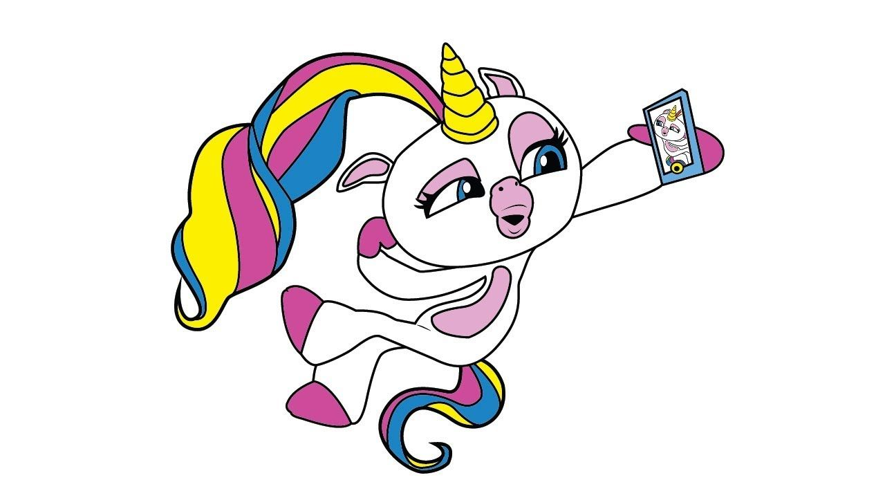 Fingerlings Coloring Pages Coloring Gigi From