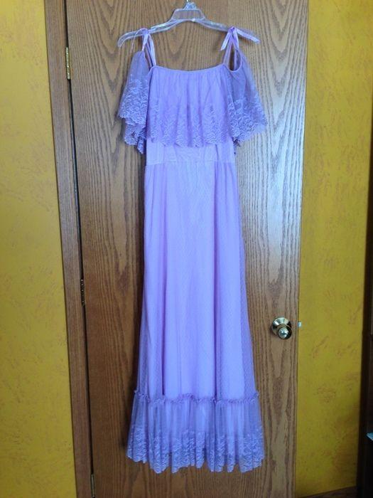 Vintage Lavender Dress