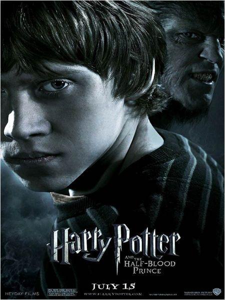 Harry Potter Y El Misterio Del Príncipe Cartel Harry Potter Películas De Harry Potter Posters Harry Potter