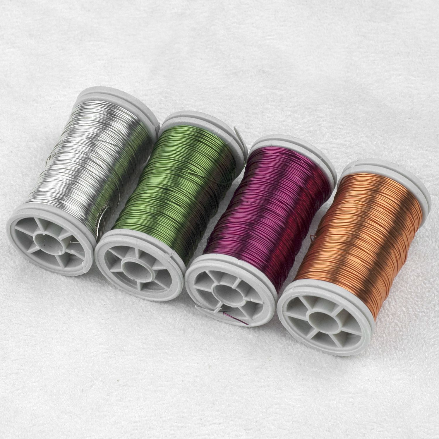 Colorful Artistic wire , Color wire for wire crochet , Copper color ...
