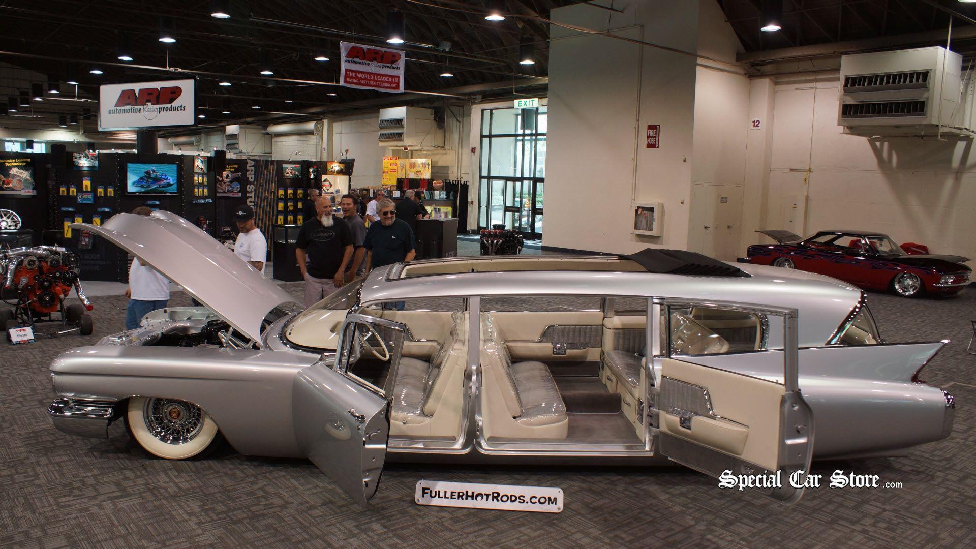 Thundertaker 1960 Cadillac Superior Coachworks Hearse HOT ROD