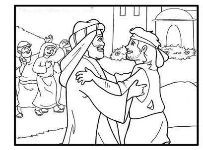 esau perdona a jacob | escuela biblica | Pinterest