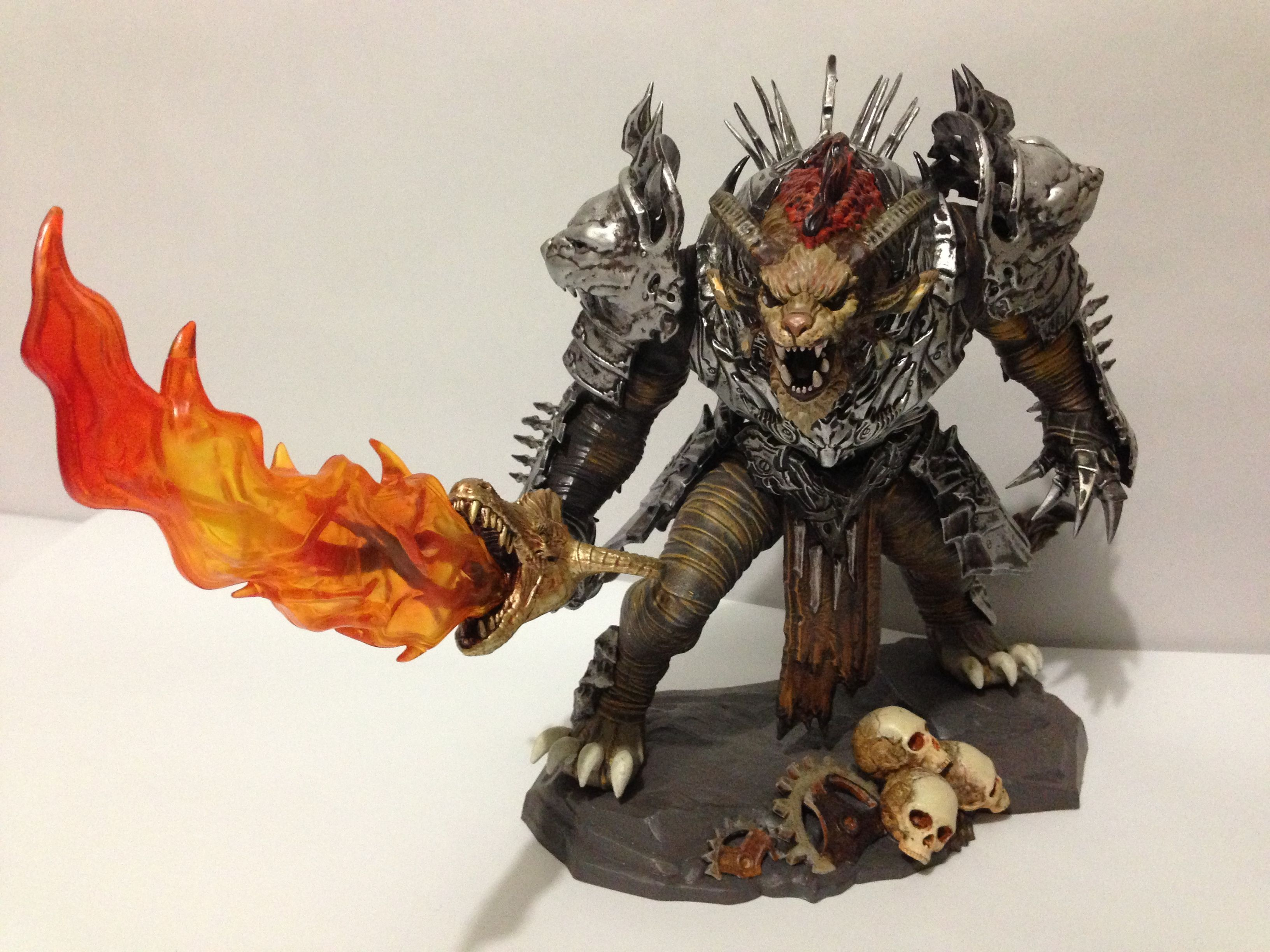Guild Wars 2 Halloween Decorations 2020 Guild Wars 2: Char Statue from the collector's Edition. | Guild