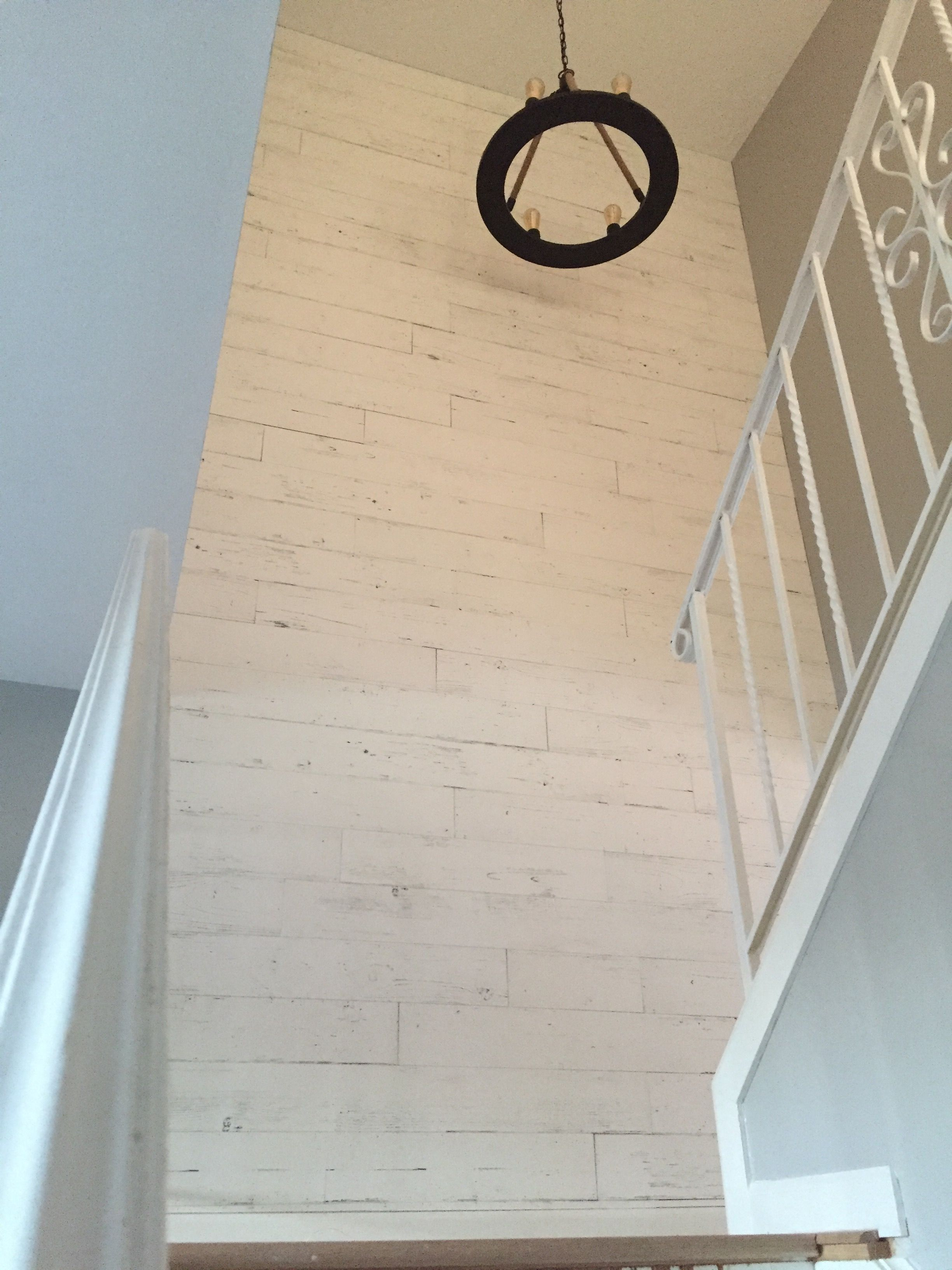Easy To Install Wood Wallplank Picket Fence Peel And Stick It S That Easy Manufactured In The Usa Stick On Wood Wall White Wood Wall Peel And Stick Wood