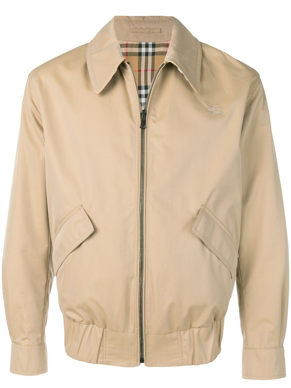 Burberry Reversible Gabardine And Check Harrington Jacket Farfetch Designer Jackets For Men Mens Jackets Harrington Jacket [ 1334 x 1000 Pixel ]