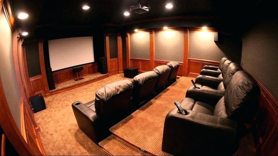 Cinema Room What Else A Person Needs If A Private Cinema Room Is