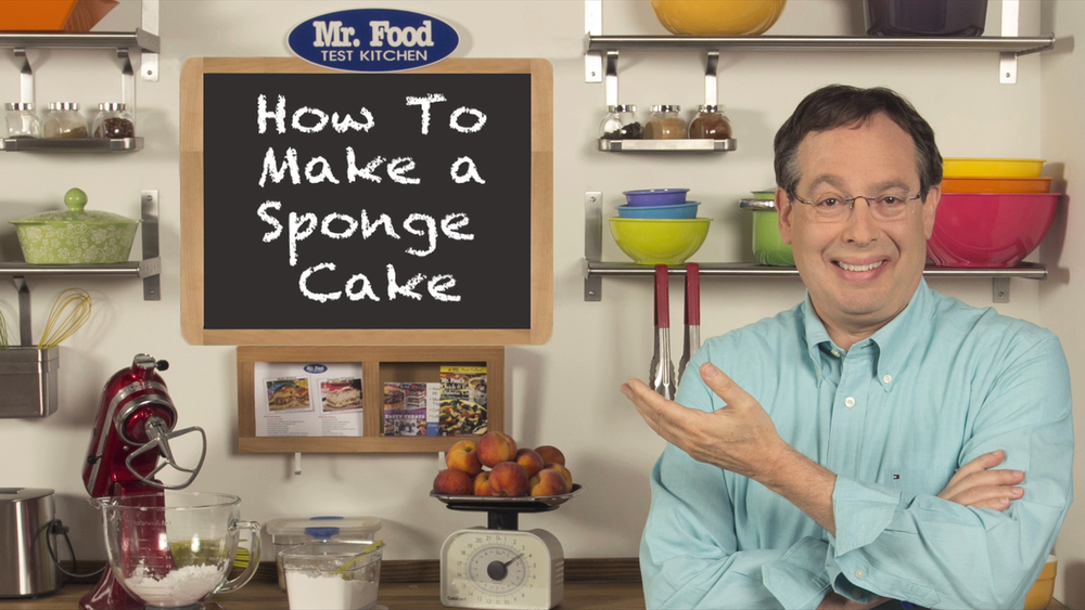 How to Make a Sponge Cake | MrFood.com