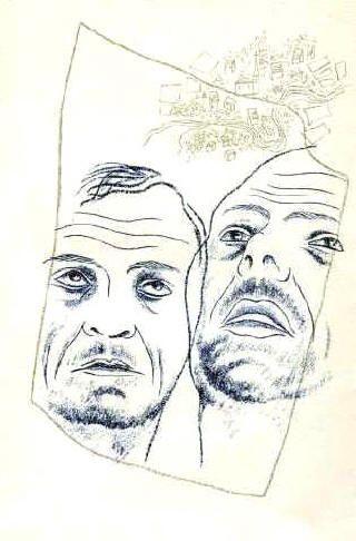 Dos Amigos, 1932. Expresionismo - Toyen