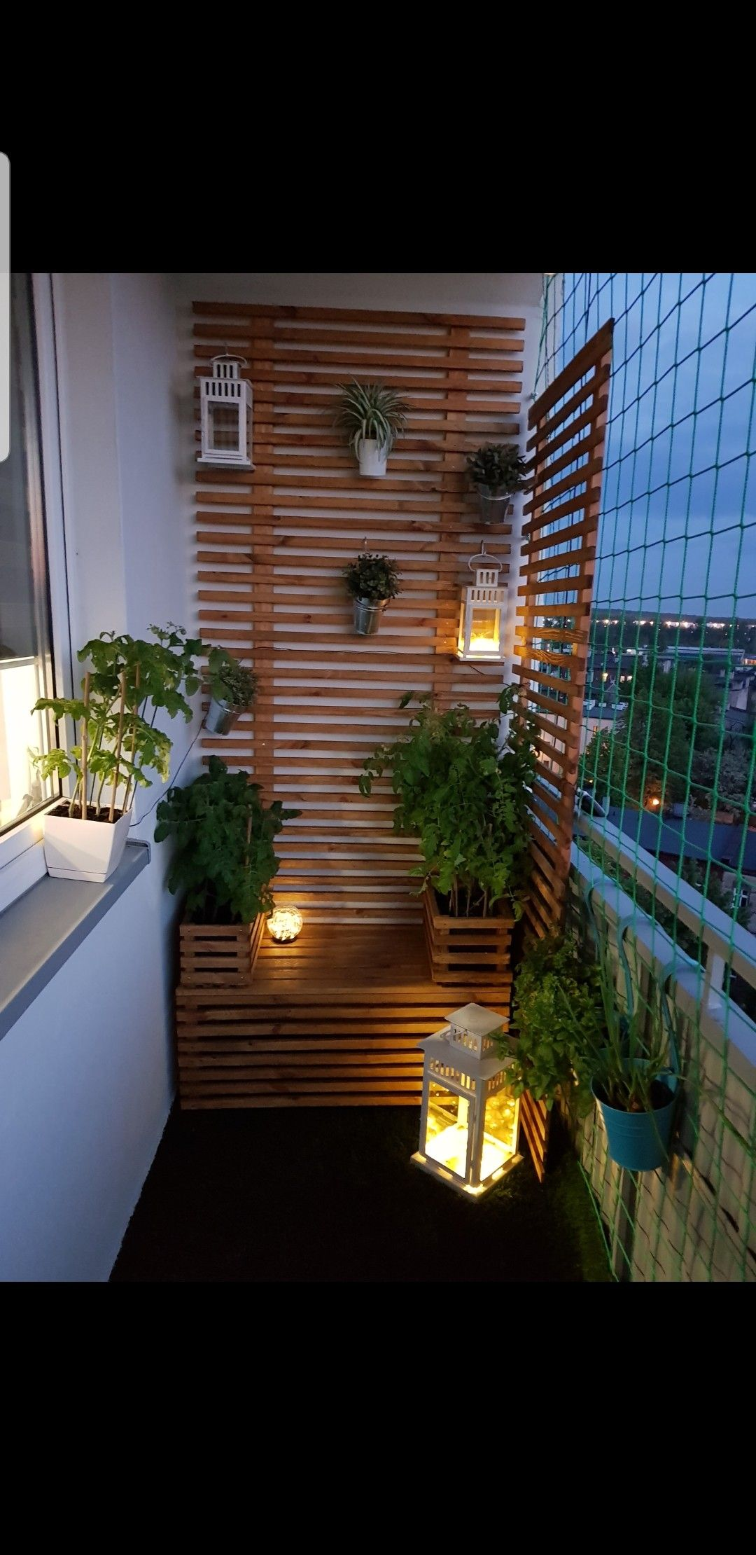 Balkon Inspiracje Apartment Balcony Decorating Patio House Styles