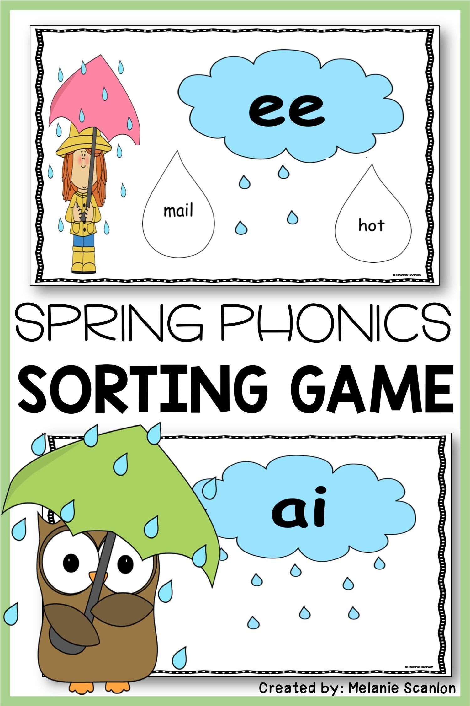 Spring Reading Game