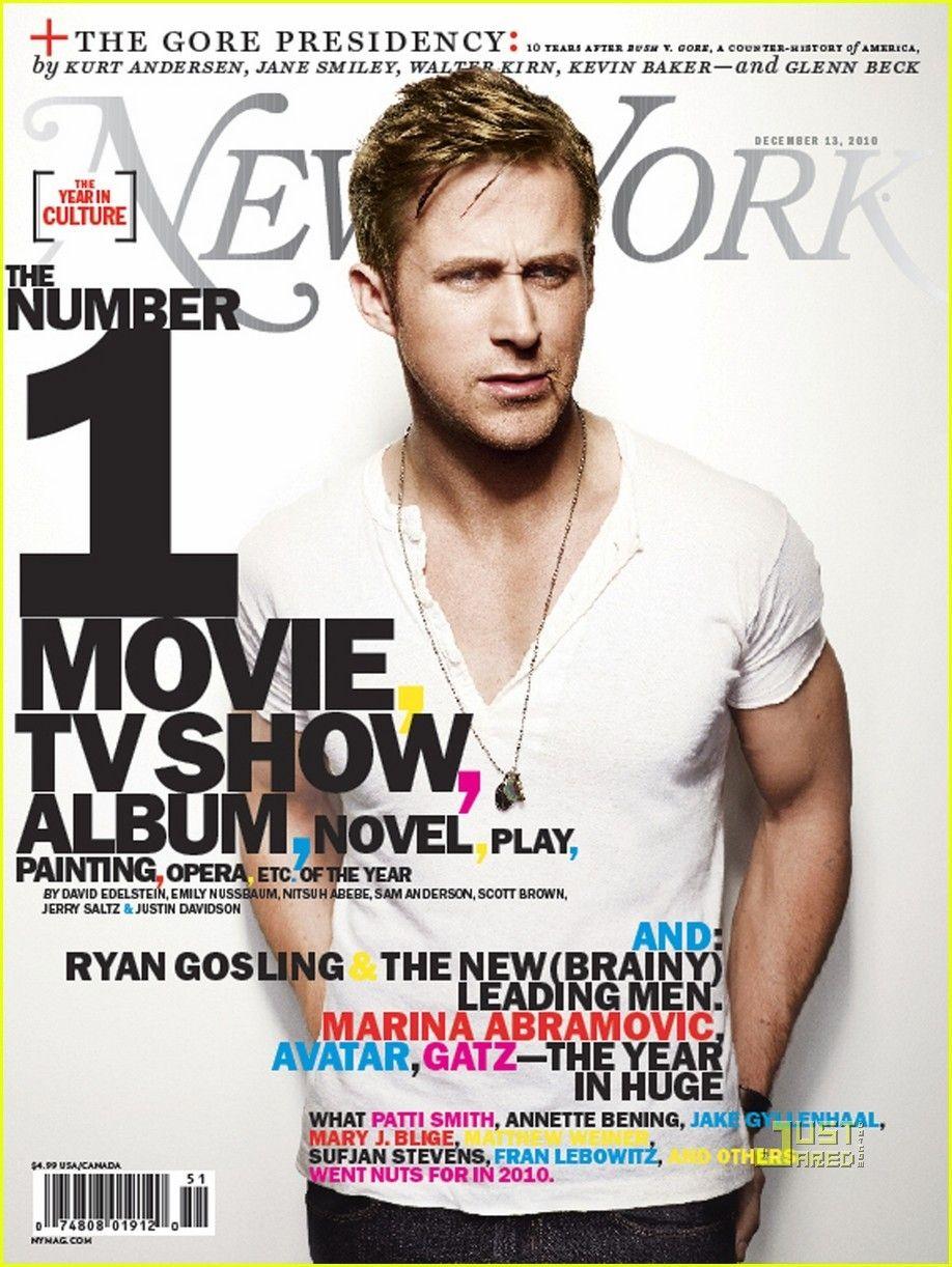 Ryan Gosling Covers New York Magazine Ryan Gosling Ryan Photographer Advertising