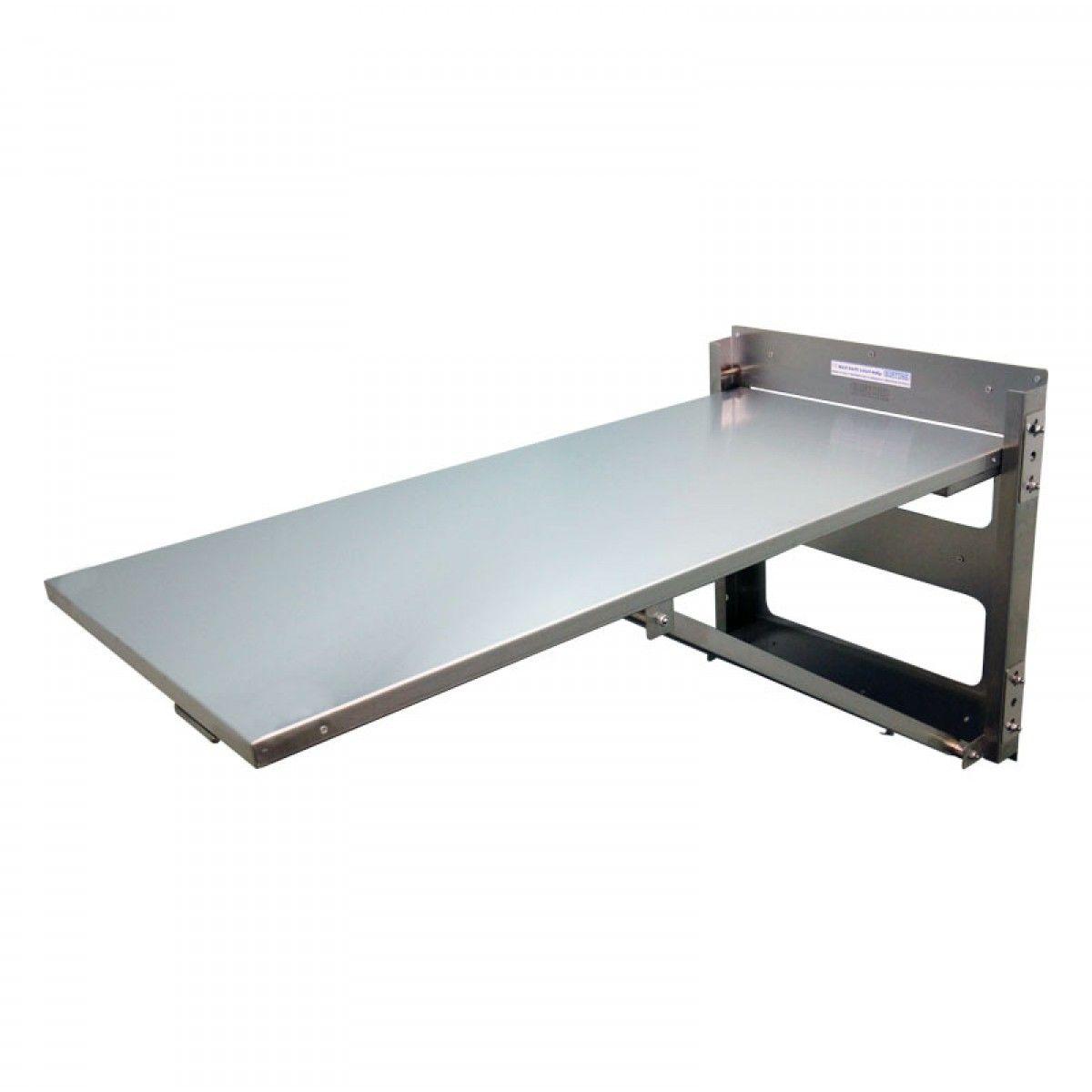 wall mounted folding desk | Balkonoplossing | Pinterest